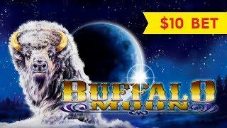 Buffalo Moon Slot - $10 Bet - NICE WIN, YEAH!!!