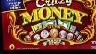 Crazy Money $ WILD $ Machine Brand New at $45/pull at Lodge Casino Colorado