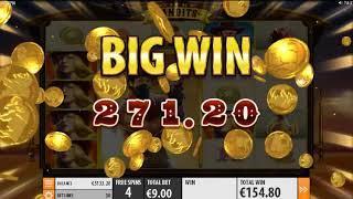 Sticky Bandits slots - 667 win!