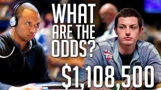 $1,108,500 Pot! Tom Dwan and Phil Ivey Go To War