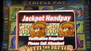 Betti The Yetti Classic Slot Machine Dbg