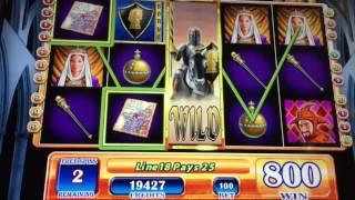 Black Knight Slot Machine ~ STICKY EXPANDING WILD BONUS! ~ KEWADIN CASINO • DJ BIZICK'S SLOT CHANNEL