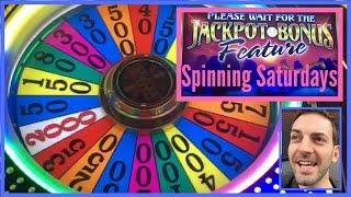 Wheel of Fortune with Neil + More • SPINNING • SATURDAYS • Dragon Spin and Cash Wheel Slot Machines