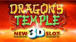 Dragon's Temple 3D Live Play and Progressive Wins