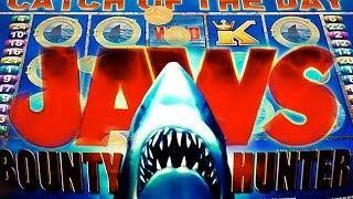 Aristocrat - JAWS - The Bounty Hunter - Slot Machine Bonus