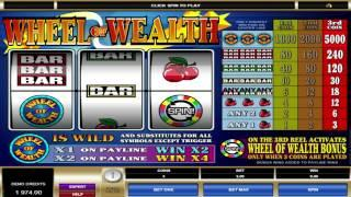 FREE Wheel Of Wealth ™ Slot Machine Game Preview By Slotozilla.com