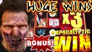The Walking Dead 2 - BONUSES AND HUGE WINS - Love this Slot Machine