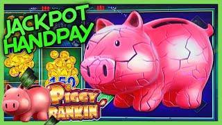 HIGH LIMIT Lock It Link Piggy Bankin' HANDPAY JACKPOT ⋆ Slots ⋆$50 Bonus Rounds Slot Machine EPIC CO