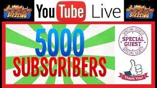 • LIVE 5,000 SUBSCRIBERS • SPECIAL CHAT with COLIN aka The Brit Slot Guy - PRE VEGAS TALK - JOIN US!