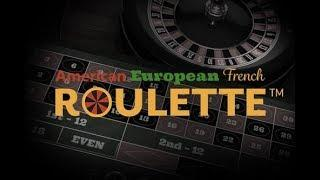 French Roulette•, American Roulette• and European Roulette• - Netent