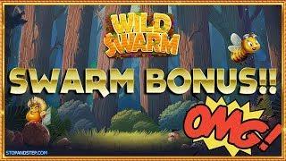Wild Swarm BIG Bonus Slot Session , Kong Megaways & Monopoly Live !!