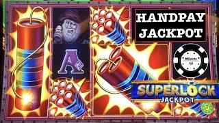 •SUPER LOCK LOCK IT LINK EUREKA REEL BLAST HANDPAY •MIGHTY CASH DOUBLE UP MONEY DRAGON SLOT MACHINE