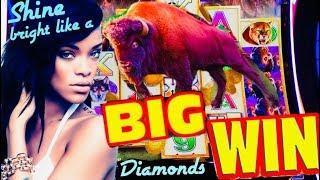 • 100 SPINS AGAIN! • BUFFALO DIAMOND slot machine SUPER BIG WIN!