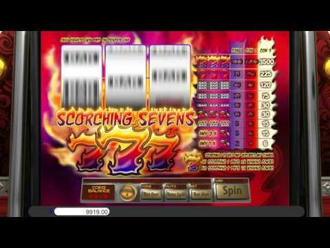Free Scorching Sevens slot machine by Saucify gameplay ★ SlotsUp