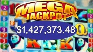•$1.8 Million Dollar Cashout Elite High Roller Video Slots Aristocrat Jackpot Handpay Penguin Pays •