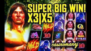 •SUPER BIG WIN!• TARZAN GRAND SLOT• - UNBELIEVABLE! -• Slot Machine Bonus