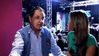 BOPC 2010 Pierre Neuville and Gaelle Garcia Diaz - Belgian Open Poker Championships - PokerStars.com