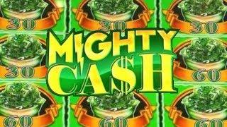 Mighty BIG WINS on MIGHTY CASH Slot Machines! BIG MONEY!
