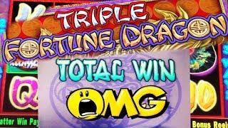 HANDPAY PLEASE! • TRIPLE FORTUNE DRAGON • 80 FREE SPINS