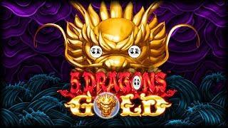 5 Dragons Gold • Gold Bonanza • Makin' Cash • The Slot Cats •