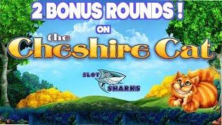 Cheshire Cat - 2 Free Spin Bonus Rounds - Norwegian Getaway