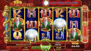 3 Kings slot - 324 win!