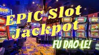 ⋆ Slots ⋆EPIC JACKPOT PLAYING MAXIMUM BET on the Slot Machine Fu Dao Le