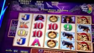 Captain Cutthroat-A dedication slot machine bonus!!