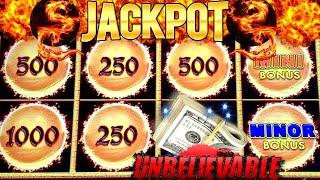 Dragon Link Slot Machine HANDPAY JACKPOT | Wild Wild Samurai Slot Max Bet FEATURES & Big Win