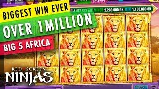 GAMBINO SLOTS - BIGGEST SLOT WIN EVER OVER $1 MILLON CAUGHT LIVE!