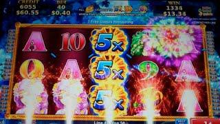 Golden Pumpkin Slot Machine Bonus - 10 Free Games with 5x, 8x + 10x Wild Multiplier - Nice Win (#3)
