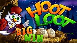 Hoot Loot Fort Knox - Big Win bonus - Slot Machine Bonus