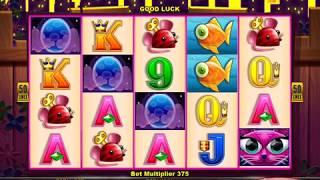 CASHMAN RETURNDS MISS KITTY GOLD Video Slot Casino Game with a FREE SPIN BONUS