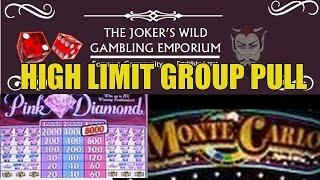 HIGH LIMIT SLOT MACHINE GROUP PULL WITH JOKER'S WILD FORUM!