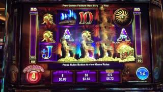 Trojan Treasure Progressive Slot Machine BONUS GAMES