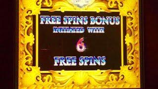 High Limit Davinci Diamonds slot- $20 bet bonus!