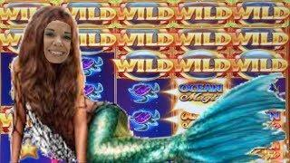 Ocean Magic GRAND slot • Slot Queen bets BIG on Advantage play •