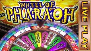 WHEEL OF PHARAOH BIG WIN BONUS - BUFFALO GRAND BONUSES - Live Casino Play Slot Machines
