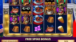 FREAKI TIKI 2 Video Slot Casino Game with a FREAKI TIKI 2 FREE SPIN BONUS
