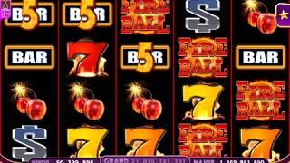 FIRE BALL Video Slot Casino Game with a FREE SPIN BONUS