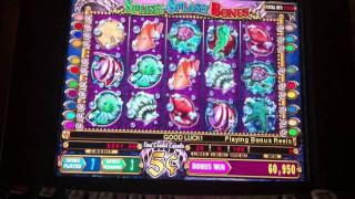 Mystical Mermaid $5 bet slot machine bonus handpay jackpot max bet pokie