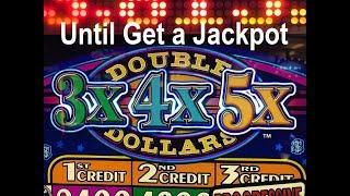 •I recorded until get a Jackpot !! Live Play •3X4X5X $1 Slot HandPay, I spent Only $3 + Free Play •