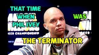 That Time When Phil Ivey was The Terminator