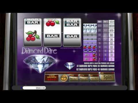 Free Diamond Dare slot machine by Saucify gameplay ★ SlotsUp