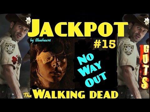 **JACKPOT HANDPAY** The WALKING DEAD slot machine max bet HUGE HANDPAY
