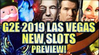 •G2E 2019• NEW 2019-2020 SLOT MACHINES SNEAK PEEK PREVIEW!! LAS VEGAS GLOBAL GAMING EXPO