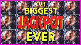 • OUR BIGGEST JACKPOT EVER!! WIFE HITS GINORMOUS HANDPAY WHILE I WAS ON VACATION!