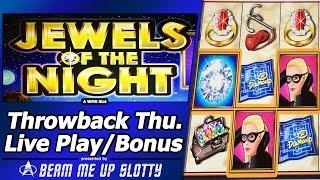 Jewels of the Night Slot - TBT Live Play and Free Spins Bonus