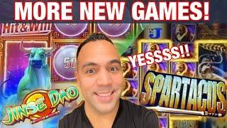• NEW SPARTACUS SLOT MACHINE!! | • NEW JINSE DAO!!! •
