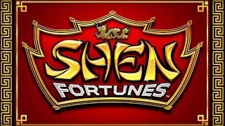 Shen Fortunes Slot - BONUS RETRIGGER, ALL FEATURES!
